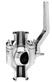 Sanitary Ball Valves allow restriction-free flow.