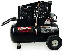 Air Compressors have ASME-certified, 20-gal receivers.