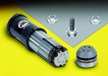 Hexagonal Tooling holds threaded fasteners in sheet metal.