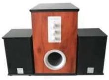 Speaker System is designed for multimedia applications.