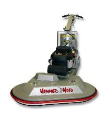 Propane Burnisher features dual pads.
