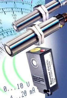 Ultrasonic Proximity Sensors offer programmable operation.