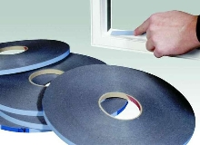 Self-Stick Glazing Tape adheres instantly to surfaces.