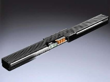 Actuator includes optic linear encoder and linear motor.