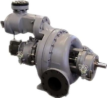 Steam Turbines range from 1-600 hp.