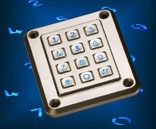 Illuminated Keypads assist visually impaired users.