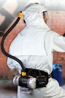 Air-Powered Respirator supplies purified air.