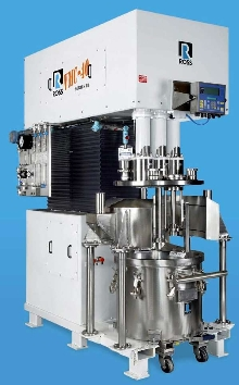 Sanitary Mixer is designed for vacuum operation.