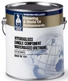 Water-Based Urethane Coating resists yellowing.
