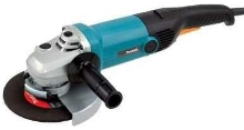 Electronic Angle Grinder uses 7 in. grinding wheel.