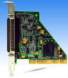 PCI DAQ Device features 200 kS/sec sampling rate.