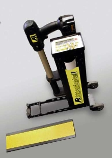 Pavement Marking System includes internal GPS.
