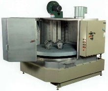 Rotary Parts Washer is constructed of stainless steel.