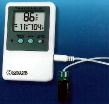 Refrigerator/Freezer Thermometer is NIST traceable.