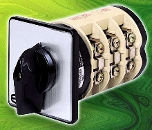 Cam-Action Rotary Switches are suited for industrial use.