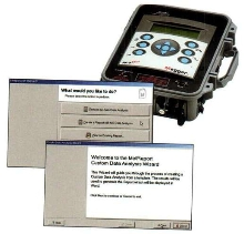Power Quality Analyzers come with reporting software.