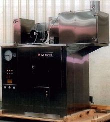 Cleanroom Cabinet Oven is electrically heated to 500°F.