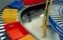 Conveyor delivers speeds from 60-300 fpm.