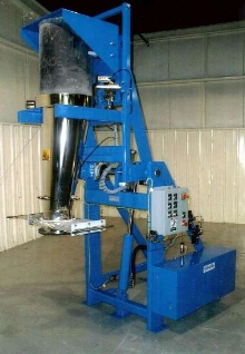 Drum Discharging System offers dust-tight operation.