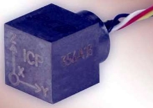 Triaxial Accelerometer suits limited-space applications.