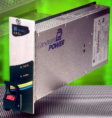 CompactPCI Power Supply offers 300 W power in 3U unit.