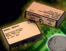 Analog Voltage I/O Modules provide 1 kHz bandwidth.