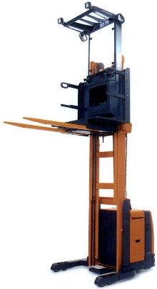 Lift Truck is suited for order picking operations.