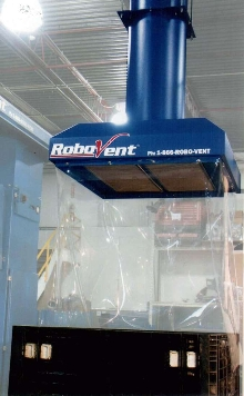 Air Filtration Hood targets welding industry.
