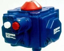 Pneumatic Actuators provide automatic valve control.
