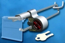 Key Lock System eliminates sweeping and mass theft.