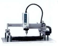Dispensing Robots offer movement up to 800 mm/sec.