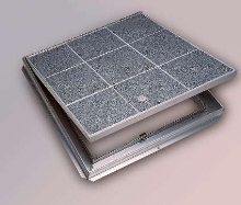 Floor Doors accept architectural flooring.