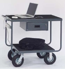 Anti-vibration Carts transport delicate instruments.