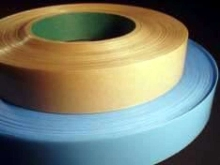 Film Tape features pressure sensitive adhesive.