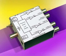 Frequency Divider accepts TTL clock signals from DC-100 MHz.