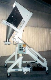 Portable Drum Dumper facilitates discharging process.