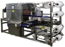 Shrink Bundler is suited for pharmaceutical industry.