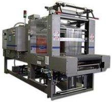 Shrink Wrapper operates at speeds to 25 trays/min.