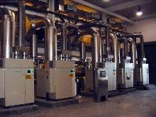 Aeration Compressor self regulates airflow in wastewater.