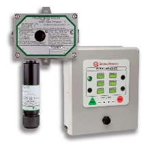 Toxic Gas Monitor offers protection in hazardous areas.