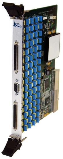 CompactPCI/PXI DAC offers 64 analog output channels.