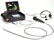 Portable Videoscopes provide remote visual inspection.