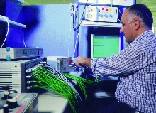 Calibration Service helps comply with ISO 9000 standards.