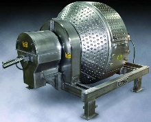Sanitary Rotary Batch Mixer maintains batch temperatures.