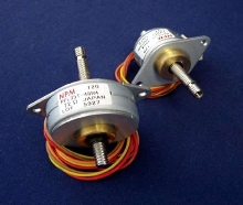 Stepper Motor offers linear motion in rotary size package.
