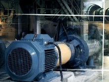 Efficient Motor is for process industry applications.