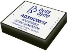 DC/DC Converters offer adjustability and low noise.