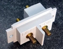 Battery Stud Terminal Block offers 2-position connection.