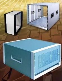 Portable Instrument Cases feature stackable design.
