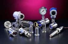 Transmitters meet 3A standards for sanitary applications.